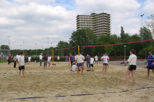 Sterrenslag beachgames beachvolleybal set huren