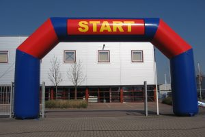 eyecatchers start finish boog huren race evenement axitraxi mieten start ziel bogen