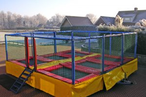 Attracties Huren Multi Trampoline Station