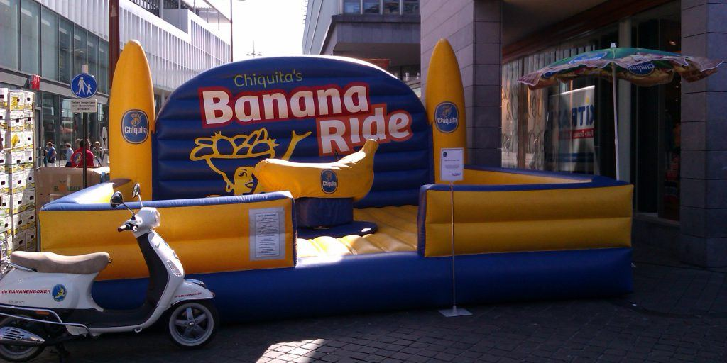 Chiquita Banana Ride Rodeo Productpromotie